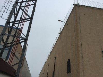 Protección de borde vertical